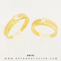 Mua NHẪN CƯỚI ĐẸP ANC42 tại Anh Phương Jewelry