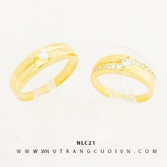 Mua NHẪN CƯỚI ĐẸP NLC21 tại Anh Phương Jewelry