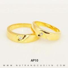 Mua NHẪN CƯỚI AP10 tại Anh Phương Jewelry