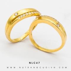 Mua NHẪN CƯỚI ĐẸP NLC47 tại Anh Phương Jewelry