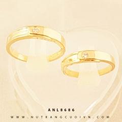 Mua NHẪN CƯỚI ANL8686 tại Anh Phương Jewelry