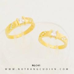 Mua NHẪN CƯỚI ĐẸP NLC41 tại Anh Phương Jewelry