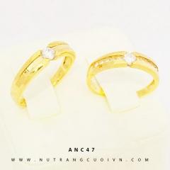 Mua NHẪN CƯỚI ĐẸP ANC47 tại Anh Phương Jewelry