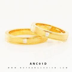 Mua NHẪN CƯỚI ANC01D tại Anh Phương Jewelry