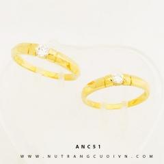 Mua NHẪN CƯỚI ĐẸP ANC51 tại Anh Phương Jewelry