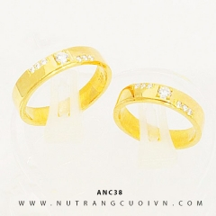 Mua NHẪN CƯỚI ĐẸP ANC38 tại Anh Phương Jewelry