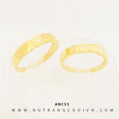 Mua NHẪN CƯỚI ĐẸP ANC53 tại Anh Phương Jewelry