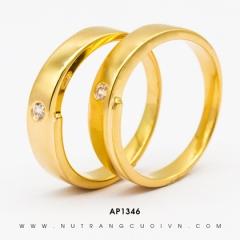 Mua NHẪN CƯỚI ĐẸP AP1346 tại Anh Phương Jewelry