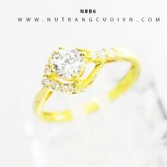 Nhẫn vàng nữ NBB6