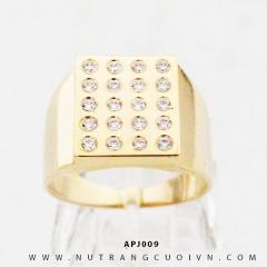 Nhẫn vàng nam APJ009