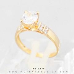 Nhẫn đính hôn N1.0438