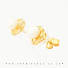 Bông tai vàng BNT61