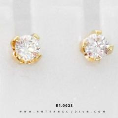 Bông tai vàng B1.0023