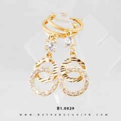 Mua Bông tai vàng B1.0029 tại Anh Phương Jewelry