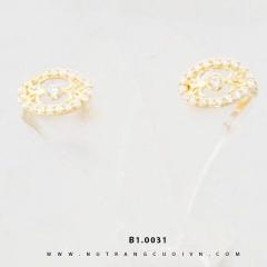 Bông tai vàng B1.0031