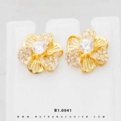 Bông tai vàng B1.0041