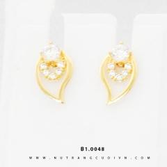 Bông tai vàng B1.0048