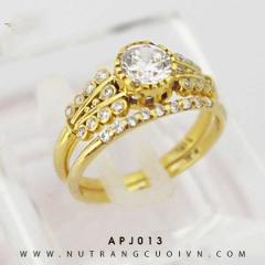 Nhẫn nữ bộ 2 chiếc APJ013