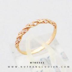 Nhẫn nữ vàng hồng MTN0562