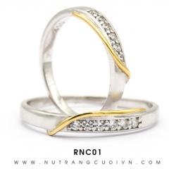 Mua NHẪN CƯỚI RNC01 tại Anh Phương Jewelry