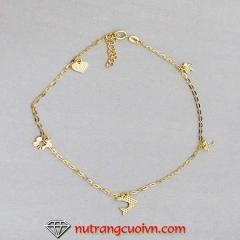 Mua Lắc chân vàng 18K PLC34 tại Anh Phương Jewelry