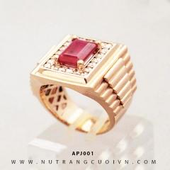 Mua Nhẫn nam ROLEX APJ001 tại Anh Phương Jewelry