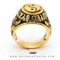 Mua Nhẫn vàng nam ANB01 tại Anh Phương Jewelry