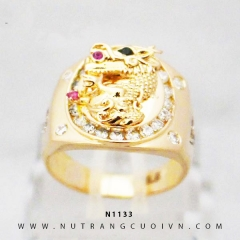 Nhẫn vàng nam N1133