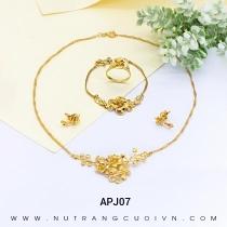 Mua Bộ trang sức cưới APJ07 tại Anh Phương Jewelry