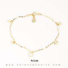 Mua Lắc chân vàng đẹp PLC46 tại Anh Phương Jewelry