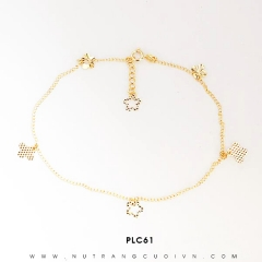 Lắc chân vàng đẹp PLC61