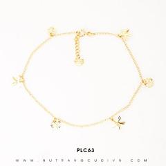 Lắc chân vàng đẹp PLC63
