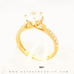 Nhẫn đính hôn đẹp N61