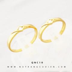 Mua NHẪN CƯỚI ĐẸP QNC10 tại Anh Phương Jewelry