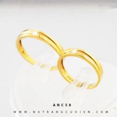Mua NHẪN CƯỚI ĐẸP ANC58 tại Anh Phương Jewelry
