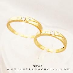 Mua NHẪN CƯỚI ĐẸP QNC34 tại Anh Phương Jewelry