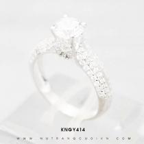 Mua Nhẫn bạc KNGY414 tại Anh Phương Jewelry