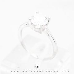 Nhẫn bạc N41