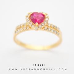 Nhẫn nữ đẹp N1.0281 (vàng 18K)