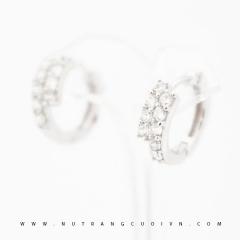 Mua Bông tai vàng trắng PBT78 tại Anh Phương Jewelry