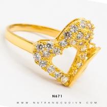 Mua Nhẫn nữ đẹp N671 tại Anh Phương Jewelry