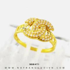 Nhẫn vàng nữ NBB4T1