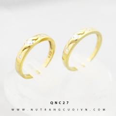 Nhẫn cưới đẹp QNC27