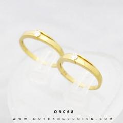 Nhẫn cưới đẹp QNC68