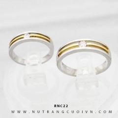 Nhẫn cưới đẹp RNC22