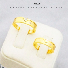 Nhẫn cưới đẹp RNC26