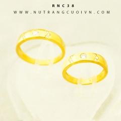 Nhẫn cưới đẹp RNC38