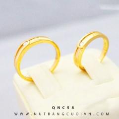 Nhẫn cưới đẹp QNC58