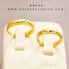 Mua Nhẫn cưới vàng RNC34 tại Anh Phương Jewelry