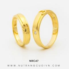 Nhẫn cưới đẹp RNC47